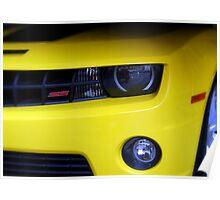 Yellow Camero Poster