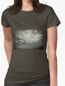 Safe Upon The Shore Womens Fitted T-Shirt