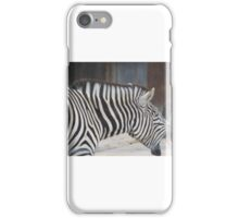Zebra Roar iPhone Case/Skin