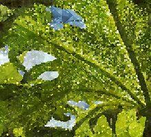 Leafart - Postcard by tropicalsamuelv