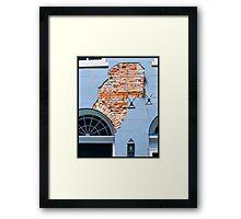 French Quarter Facade Framed Print