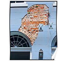 French Quarter Facade Poster
