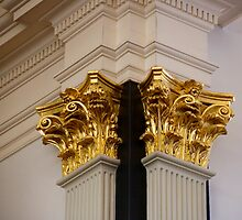 Gilded Capitals by Jay Gross