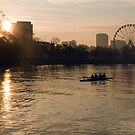 Yarra River Sunrise Melbourne by Chris Muscat