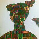puppy dog square shapes by briony heath