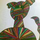 puppy dog stripes and cute by briony heath