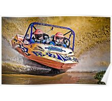 """Hooters"" - V8 Jetboat Poster"