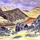 Slate mine, Cumbria by Ivor