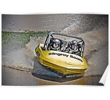 """Our Toy"" - V8 Jetboat Poster"