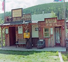 The Road Kill Cafe and Stage Stop, Tincup, Colorado by Adrian Paul