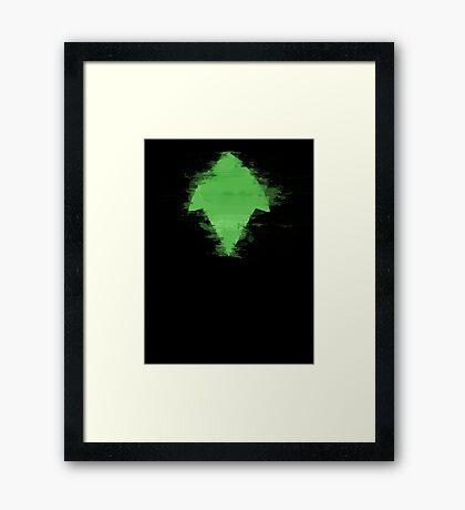 Artemis Young Justice Framed Print