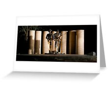 """Australian Army National Memorial""  Greeting Card"