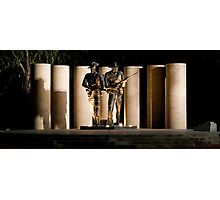 """Australian Army National Memorial""  Photographic Print"