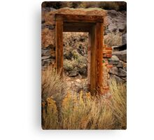 A Doorway To......... Canvas Print