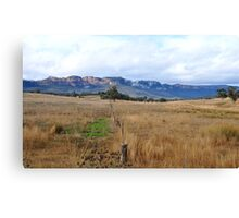 Don't Fence Me In - Capertee Valley NSW Australia Canvas Print
