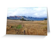 Don't Fence Me In - Capertee Valley NSW Australia Greeting Card