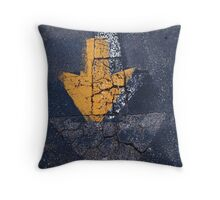 Proceed Ahead Throw Pillow