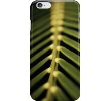Palm Fronds - vertical iPhone Case/Skin