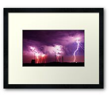 Electrified Framed Print