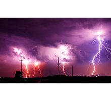 Electrified Photographic Print
