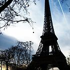 Eiffel Tower at Dusk by Rachel Meyer