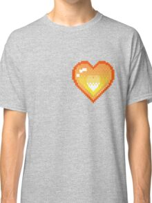 Mystery Skulls 'Ghost' - Heart Classic T-Shirt