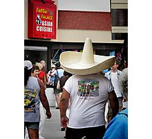 Hungry Hombre Photographic Print