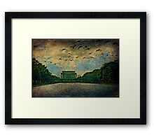 The Lincoln Memorial, Washington D.C. Framed Print