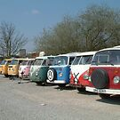 VW line up by TREVOR34