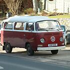 Maroon VW by TREVOR34