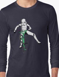 stormtrooper on a bike Long Sleeve T-Shirt