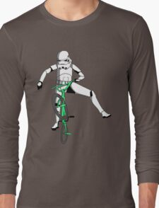 stormtrooper on a bike Long Sleeve T-Shirt