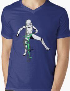 stormtrooper on a bike Mens V-Neck T-Shirt