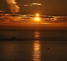 Land's End Sunset by fototaker