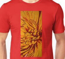 Imagination in Bold Yellows, Reds and Oranges Unisex T-Shirt