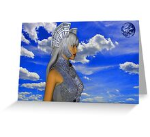 Sky warrior Greeting Card