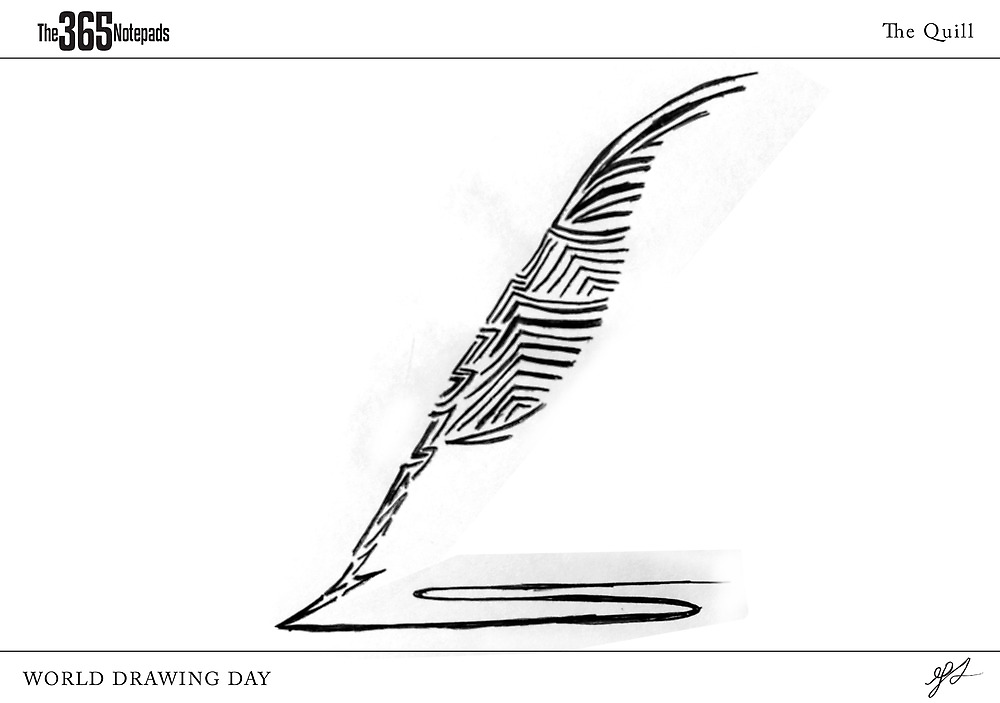 The quill by 365 Notepads -  School of Faces