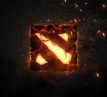 Dota 2 logo by S4beR
