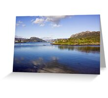 View Over Plockton Harbour Greeting Card