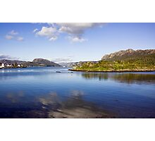 View Over Plockton Harbour Photographic Print
