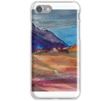 Hilltop house iPhone Case/Skin