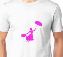 Pink Miss Poppins  Unisex T-Shirt