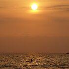 Fishing at sunrise in Thailand by MelanieBKK