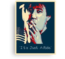 Bill Hicks - It's Just A Ride Tee Canvas Print