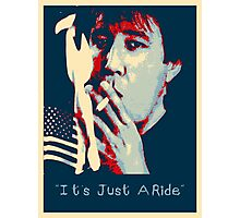Bill Hicks - It's Just A Ride Tee Photographic Print