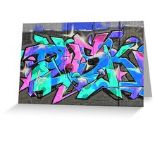 Wall-Art-005 Greeting Card
