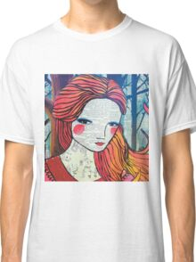 Little Red modern red portrait Classic T-Shirt