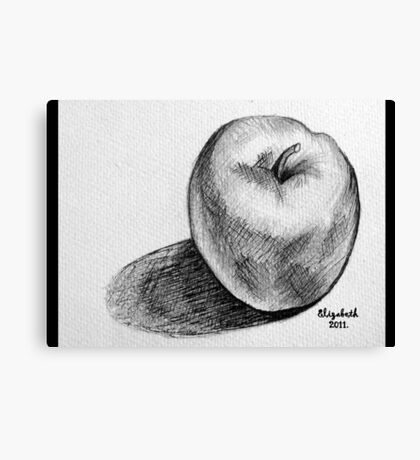 An apple a day.... Canvas Print