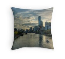 Late Afternoon On The Yarra Throw Pillow