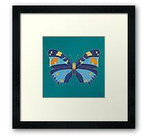 Turquoise Emperor Framed Print